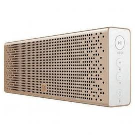 Xiaomi Mi Wireless Bluetooth Speaker with AUX input, Hands Free Support For Calls, Portable, For Outdoor, Home & Travel Compatible With Smartphones, Tablets, TVs, Laptops etc - Gold - Metallic Finish
