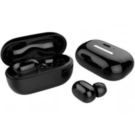G-Tab QW3,Bluetooth 5.0 Headphones in Ear with Charging Case,Touch Control,Playback for iPhone and Android,True Wireless Earbuds Bluetooth Sports Headphones (Black)