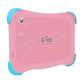 G-Tab Q4 7 inch Tablet - Android 9.0 Go Tablet PC with 16 GB Storage, Quad Core Processor, HD IPS Display, Dual Cameras, WiFi, Bluetooth - Android Tablet, Pink