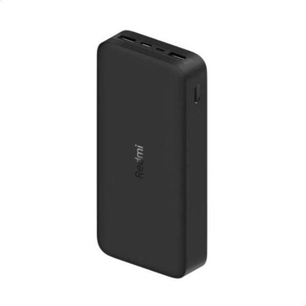Xiaomi Redmi 20000 mAh Powerbank (4 in 1) Portable 32W PD [Dual USB-A] [Type C] [Micro USB], High-Speed Charging Technology - for Smartphones, Tablets, Headphones, Smart Watches & Action Cam - Black
