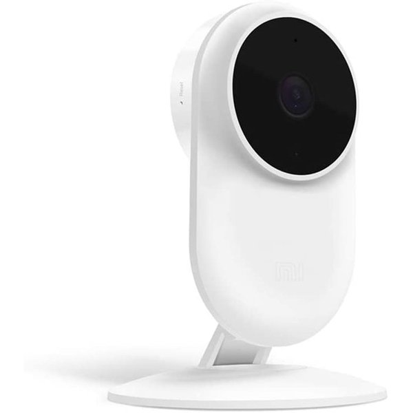 Xiaomi Mi Home Security Camera Basic 1080p [ Full HD Picture Quality 1080p, Ultra-wide 130º Angle Lens, Ai Motion Detection, Infrared Night Vision, Talkback Feature] - for iOS & Android - White